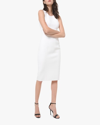 Michael Kors Collection Sccop-Neck Sheath Dress 1