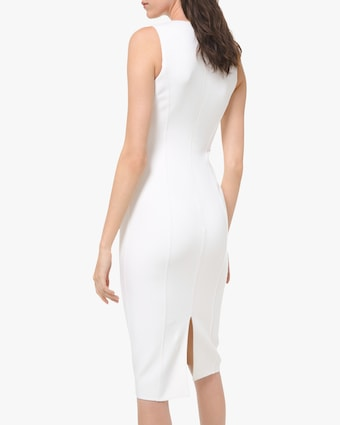 Michael Kors Collection Sccop-Neck Sheath Dress 2