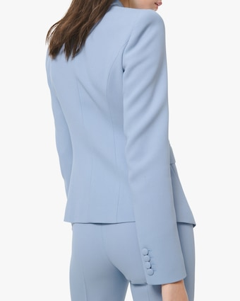 Michael Kors Collection Crepe Double-Breasted Blazer 2
