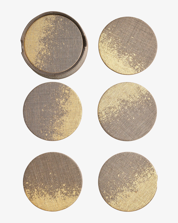 Kim Seybert Metafoil Coasters- Set of 6 1