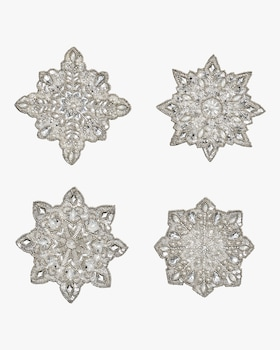 Snowflake Coasters- Set of 4