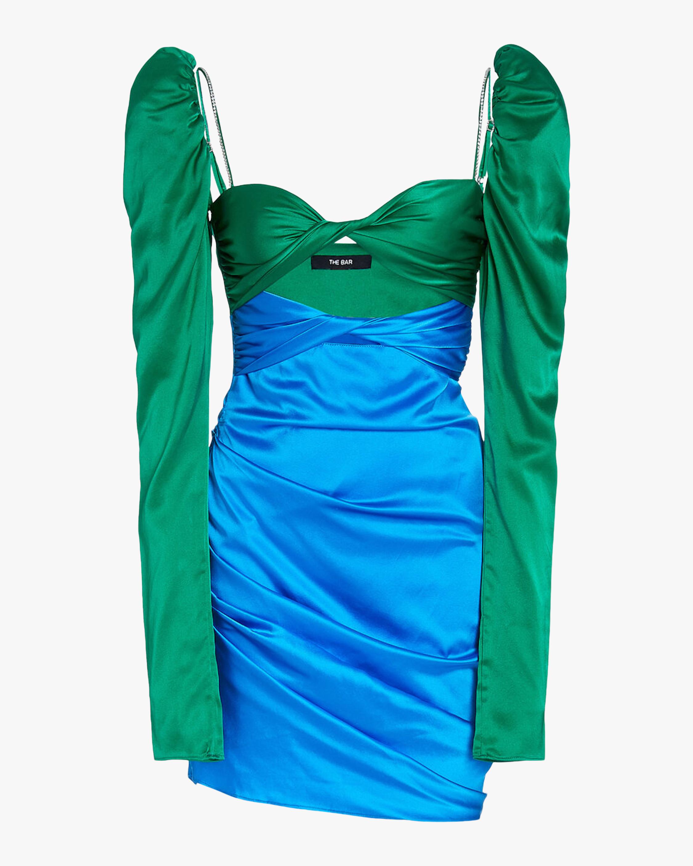 The Bar Twist-Top Mini Dress 1