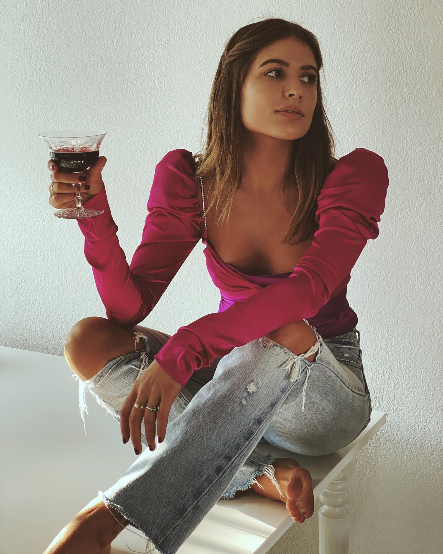 The Bar Twist-Top Long-Sleeve Top 1