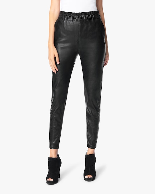 Joe's Jeans The Faux Leather Paperbag Pants 1