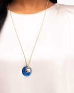 Akola Ines Long Chain Necklace 1