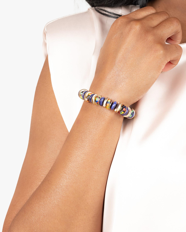 Akola Monarch Beaded Stretch Bracelet 1