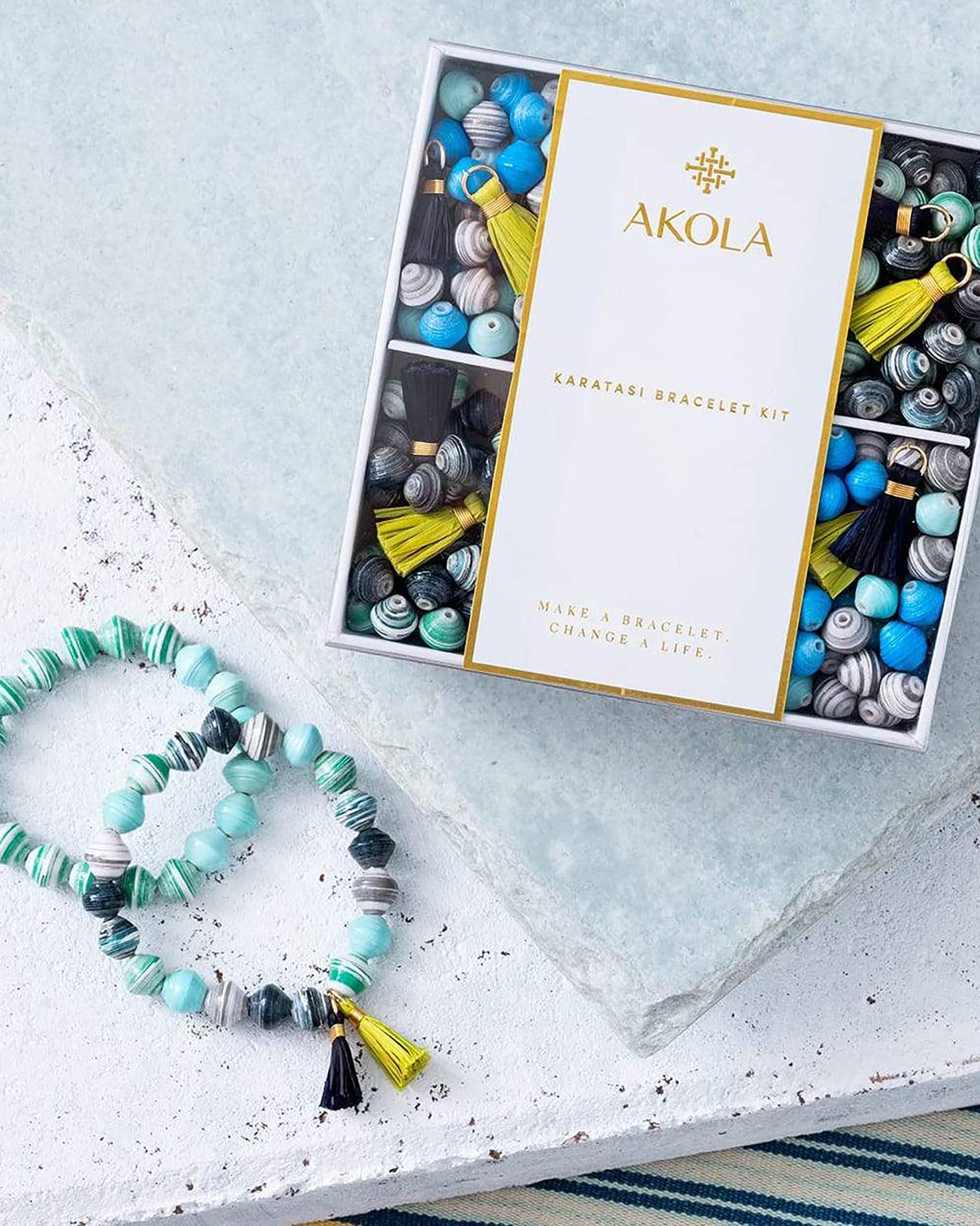 Akola Karatasi DIY Bracelet Kit 1