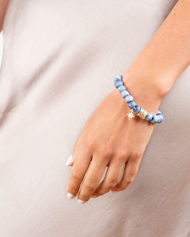 Akola Lala Beaded Stretch Bracelet 1