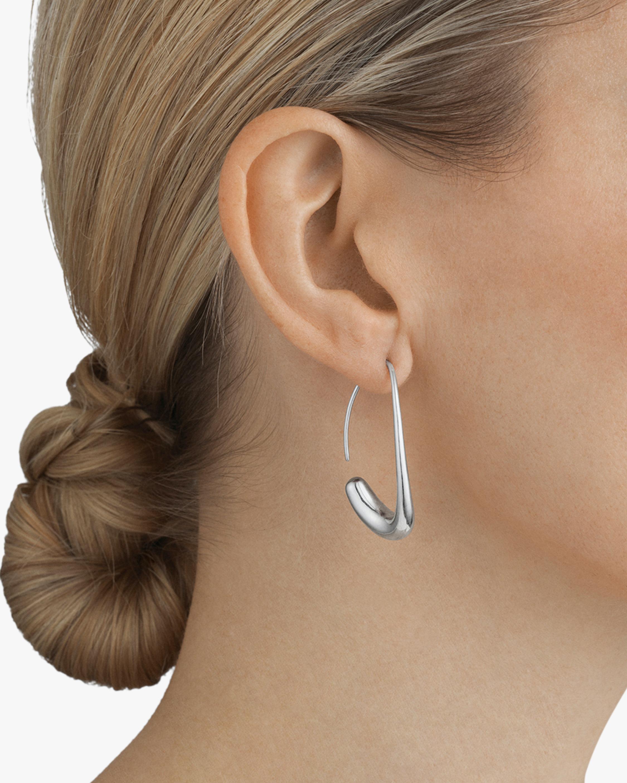 Georg Jensen Jewelry Offpsring 433E Hoop Earrings 2