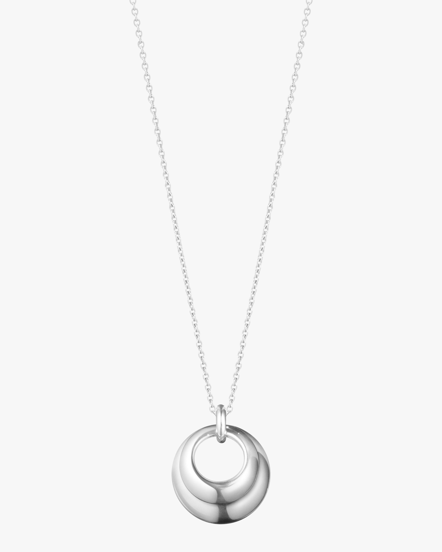 Georg Jensen Jewelry Curve 501B Pendant Necklace 1
