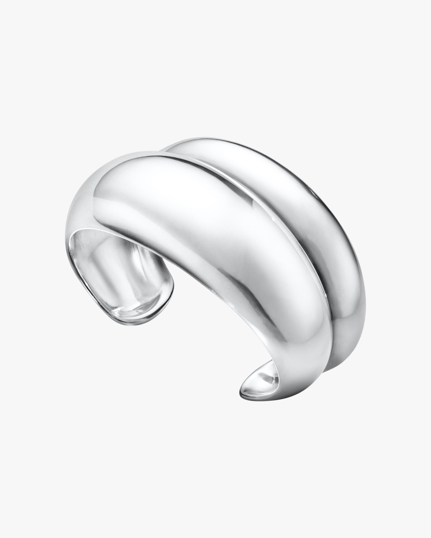Georg Jensen Jewelry Curve 501B Cuff 1