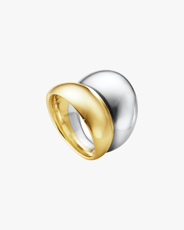 Georg Jensen Jewelry Curve 501 Two-Tone Ring 1