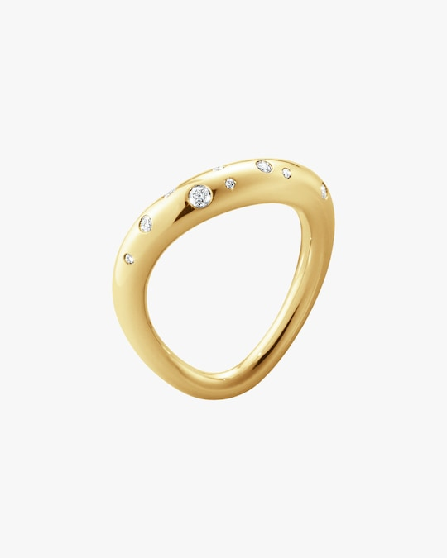 Georg Jensen Jewelry Offspring 1433 Diamond Ring 0