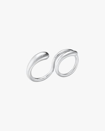 Georg Jensen Jewelry Mercy 634C Double Ring 1