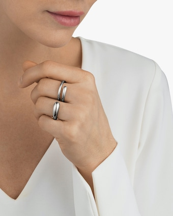 Georg Jensen Jewelry Mercy 634C Double Ring 2