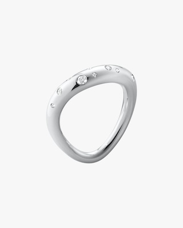 Georg Jensen Jewelry Offspring 433A Diamond Ring 1