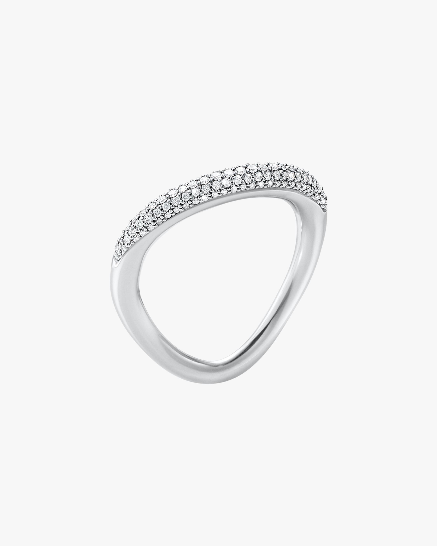 Georg Jensen Jewelry Offspring 433A Pavé Diamond Ring 1
