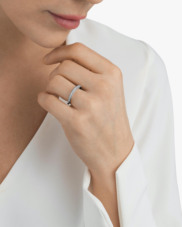 Georg Jensen Jewelry Offspring 433A Pavé Diamond Ring 2