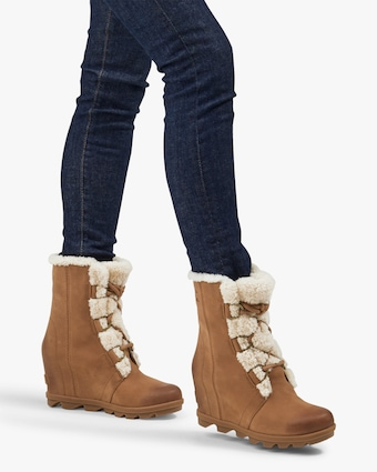 Sorel Joan Of Arctic Shearling Wedge Boot 2