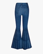 7 For All Mankind Mega Flare Pleated Jeans 2