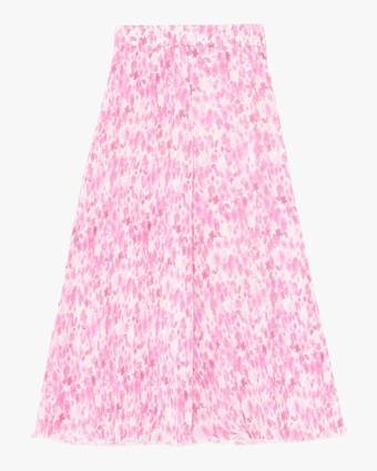 Ganni Pleated Georgette Skirt 2