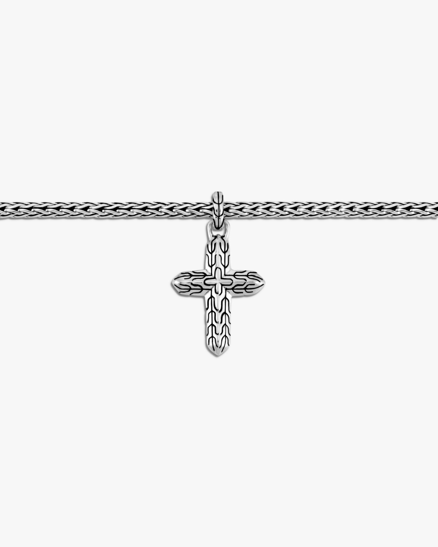 John Hardy Classic Chain Cross-Charm Bracelet 2