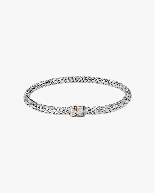 John Hardy Classic Chain Diamond Pavé Extra-Small Bracelet 1