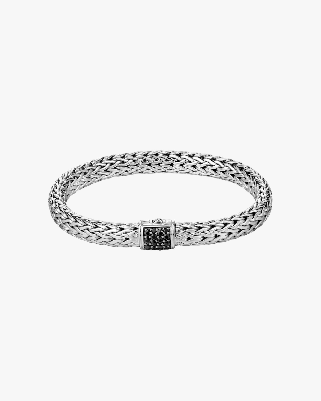 John Hardy Classic Chain Black Sapphire Lava Bracelet 1