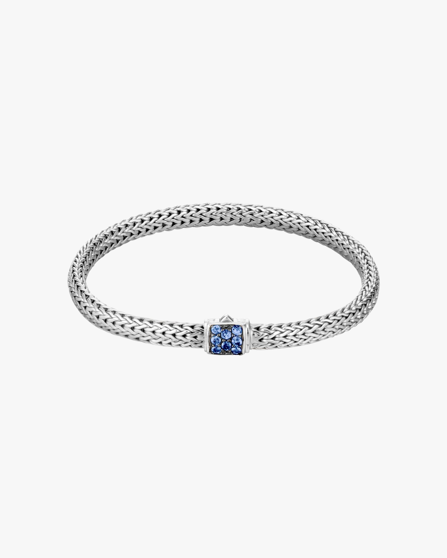 John Hardy Classic Chain Blue Sapphire Lava Bracelet 0