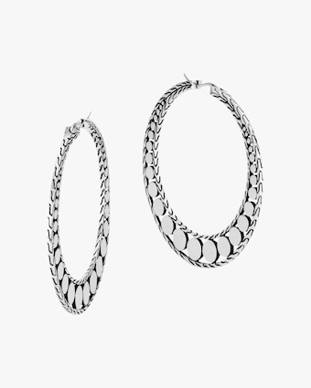 John Hardy Dot Hoop Earrings 1