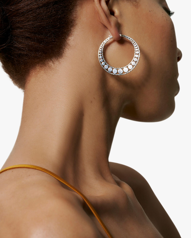 John Hardy Dot Hoop Earrings 2