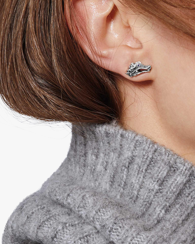 John Hardy Legends Naga Blue Sapphire Stud Earrings 2