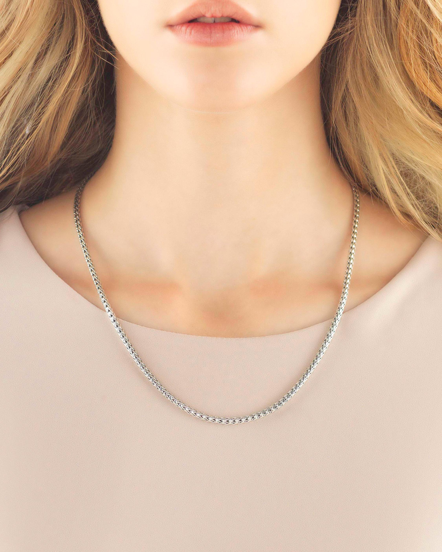 John Hardy 18 Inch Classic Chain Slim Necklace 2
