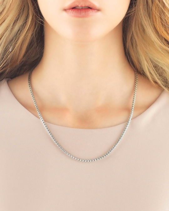 John Hardy 20 Inch Classic Chain Slim Necklace 1