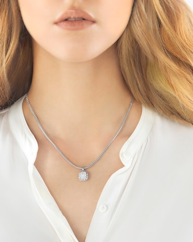 John Hardy Classic Chain Pavé Diamond Pendant Necklace 2