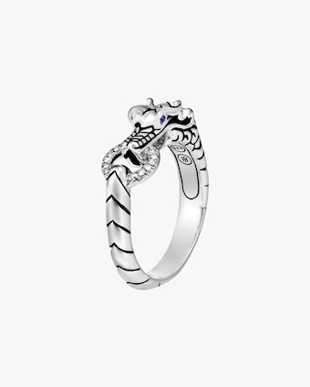John Hardy Legends Naga Diamond Ring 1