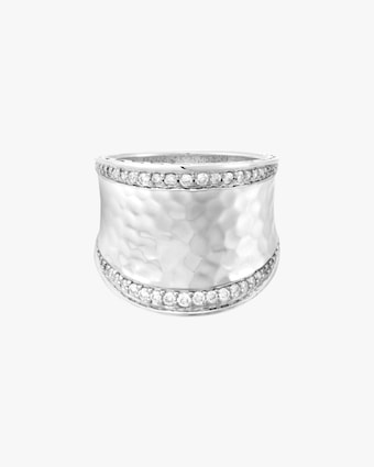 John Hardy Classic Chain Hammered Ring 2