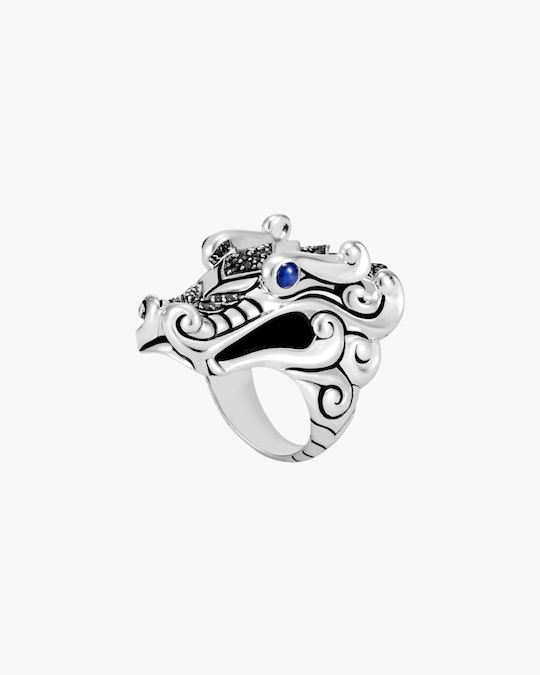 John Hardy Legends Naga Dragon Head Ring 0