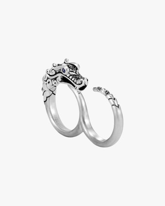 John Hardy Legends Naga Two-Finger Ring 1