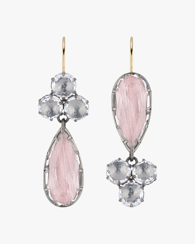 Larkspur & Hawk Sadie Cluster Pear Earrings 1