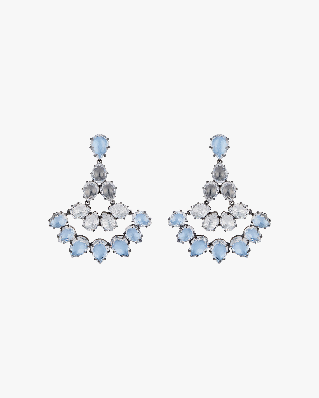 Larkspur & Hawk Caterina Fan Earrings 1