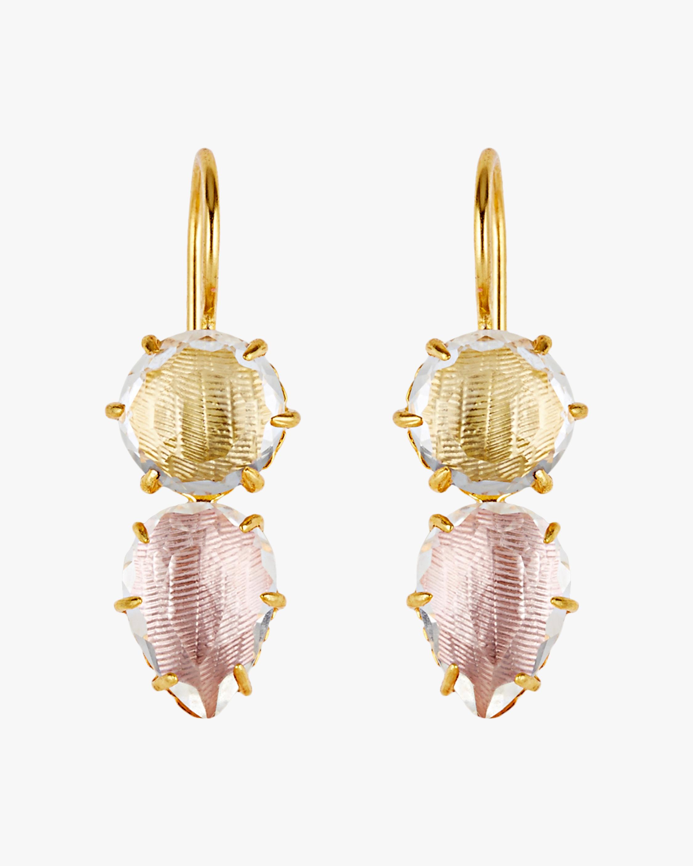 Larkspur & Hawk Caterina Round Pear Earrings 0