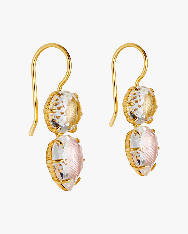 Larkspur & Hawk Caterina Round Pear Earrings 1