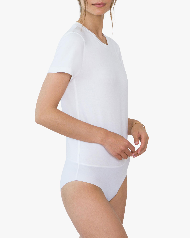 Santicler Jen Organic Cotton Crewneck Bodysuit 1
