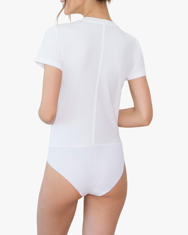 Santicler Jen Organic Cotton Crewneck Bodysuit 2