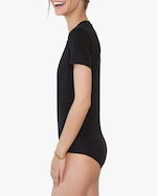 Santicler Nora Organic Cotton V Neck Bodysuit 1