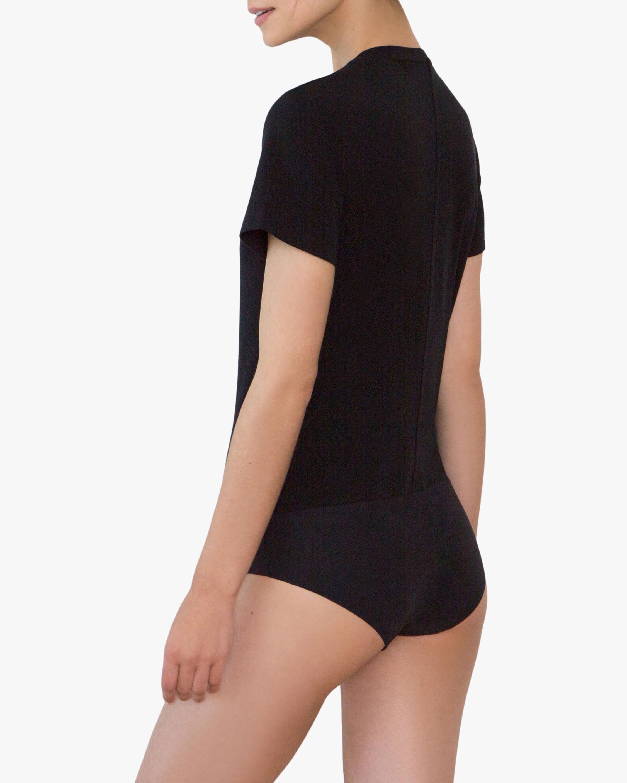Santicler Nora Organic Cotton V Neck Bodysuit 2