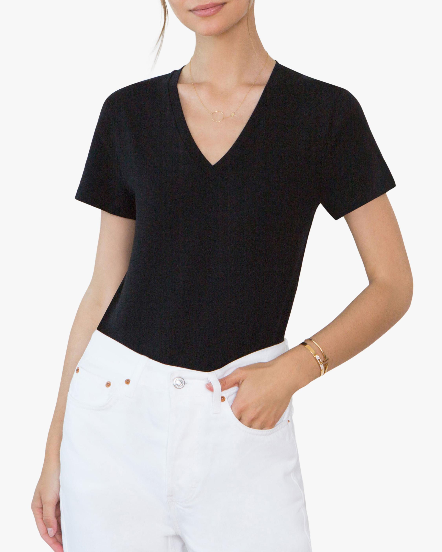 Santicler Nora Organic Cotton V Neck Bodysuit 3