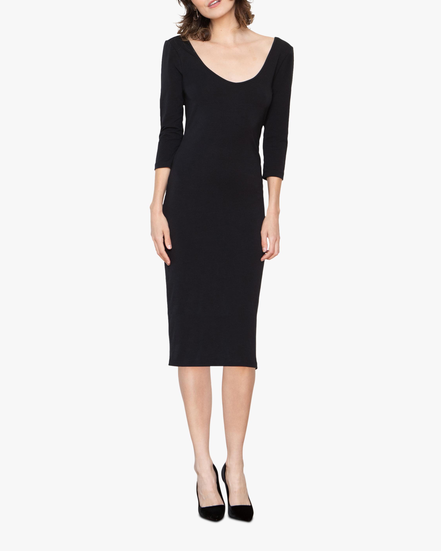 Santicler Diana Organic Cotton Bodycon Dress 1