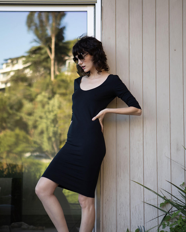 Santicler Diana Organic Cotton Bodycon Dress 2